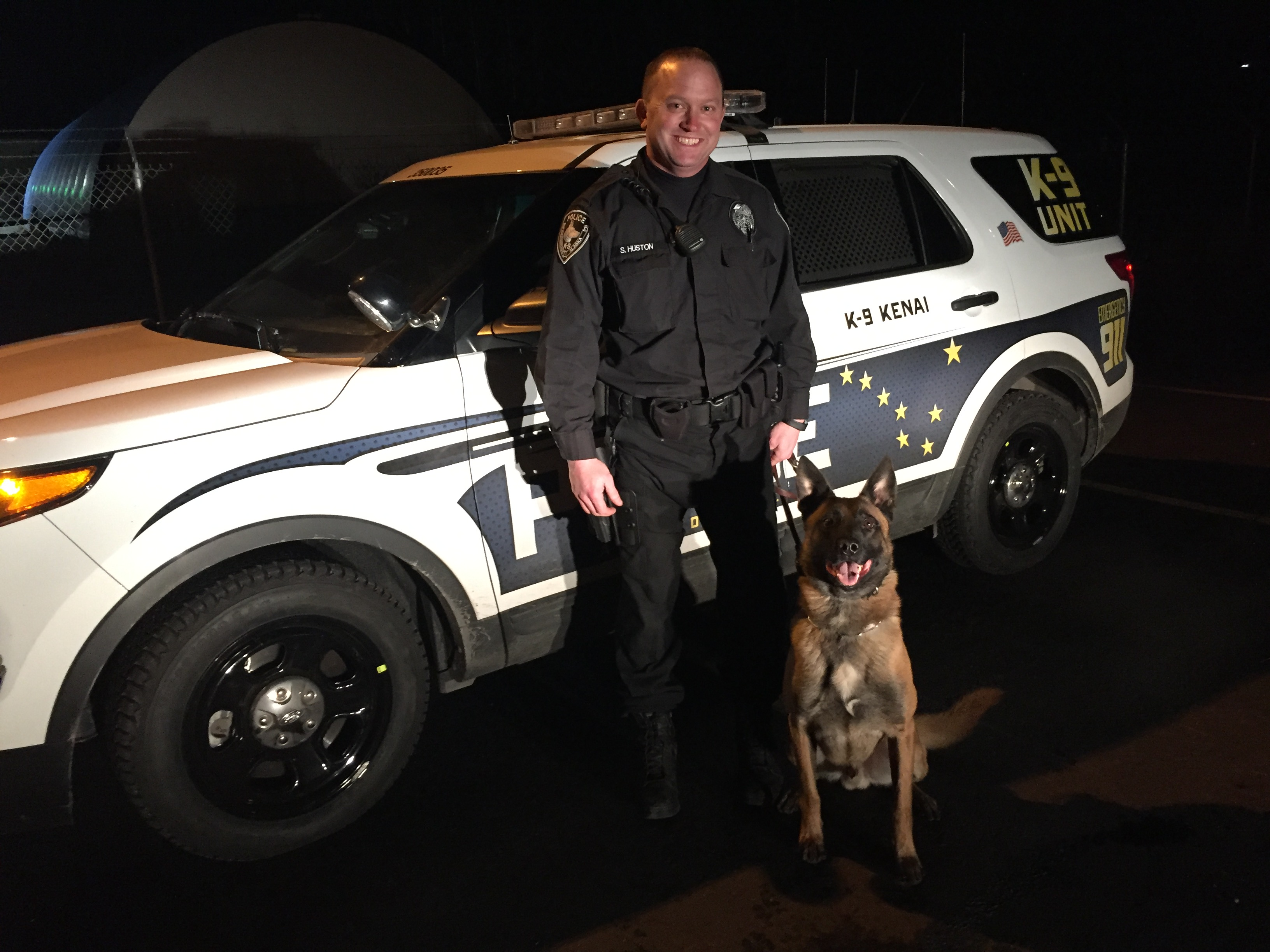 APD K 9 Nabs Man who Struck Police Vehicle & Building in Stolen Subaru